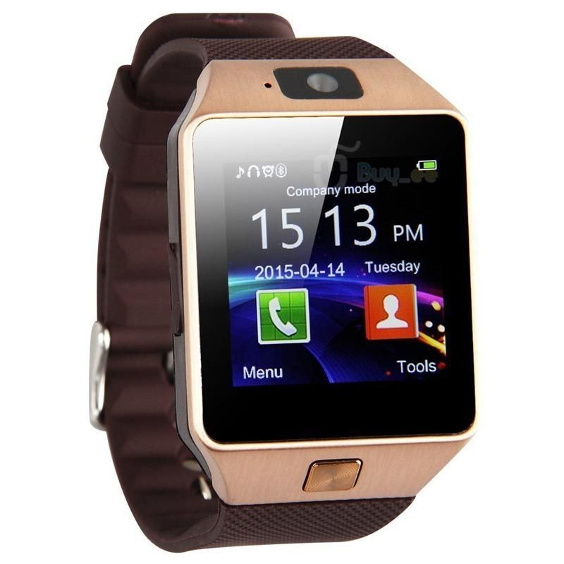 Smartwatch, montre tactile & telephone DZ09 - Gold