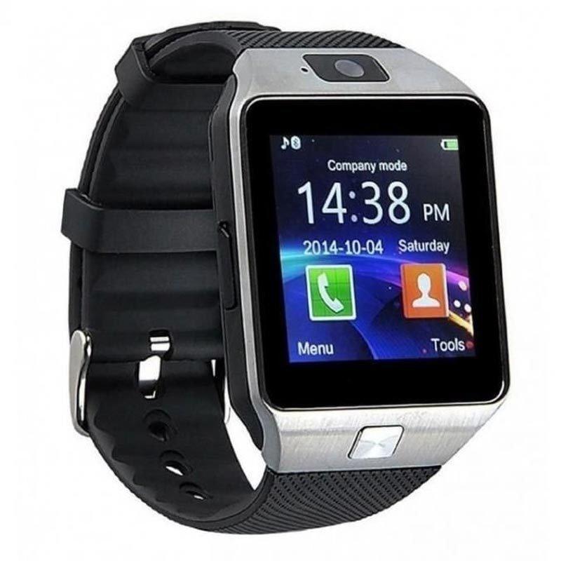 Smartwatch, montre tactile & telephone DZ09 - Silver
