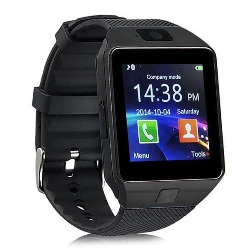 Smartwatch, montre tactile & telephone DZ09 - Noir