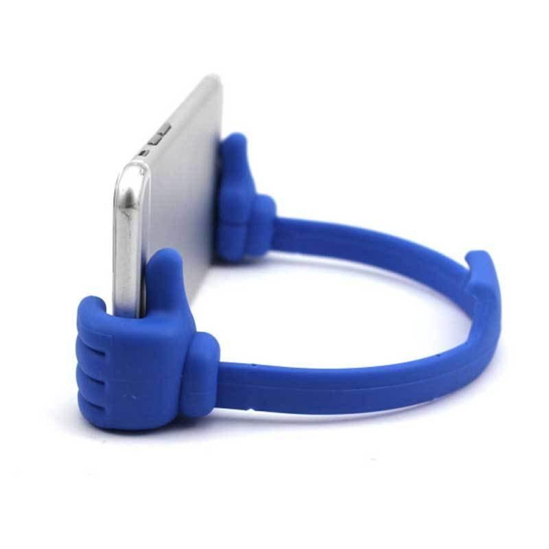 Support universel pour smartphone et tablette - Bleu