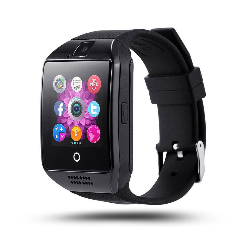 Montre intelligente connectée bluetooth - Q18 - Noir