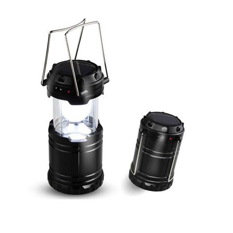 Lanterne solaire LED multifonction USB rechargeable