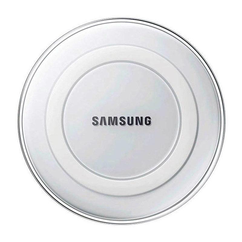 Chargeur sans fil QI Station Samsung pour smartphones & iPhone8 et iPhoneX- blanc