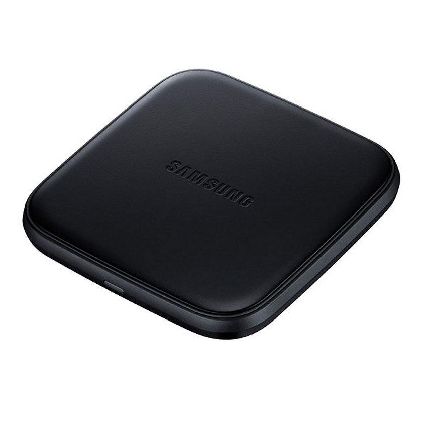 Mini chargeur sans fil à induction pour smartphones Samsung  & iPhone8 et iPhoneX - Noir