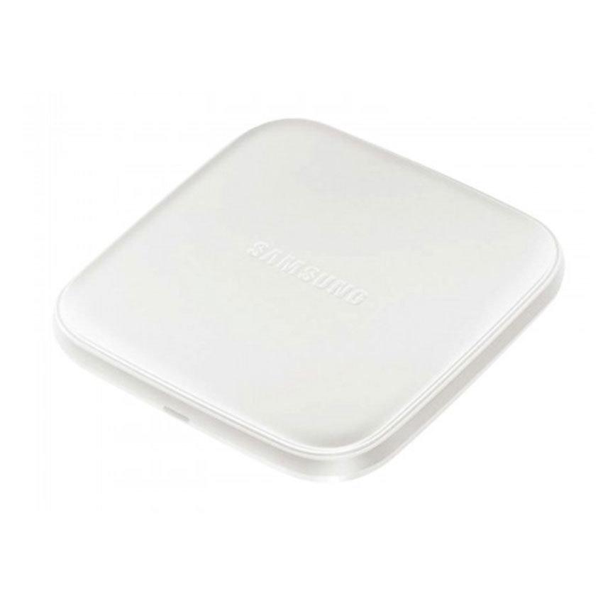 Mini chargeur sans fil à induction pour smartphones Samsung & iPhone8 et iPhoneX - Blanc