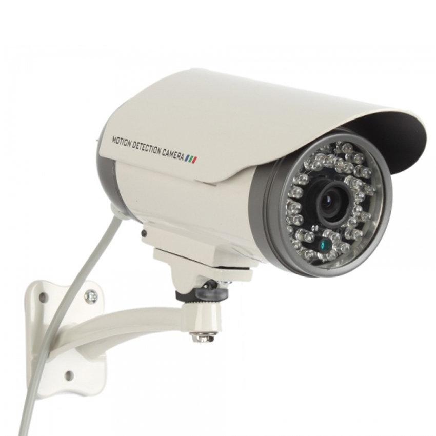 Caméra de surveillance autonome CCTV étanche