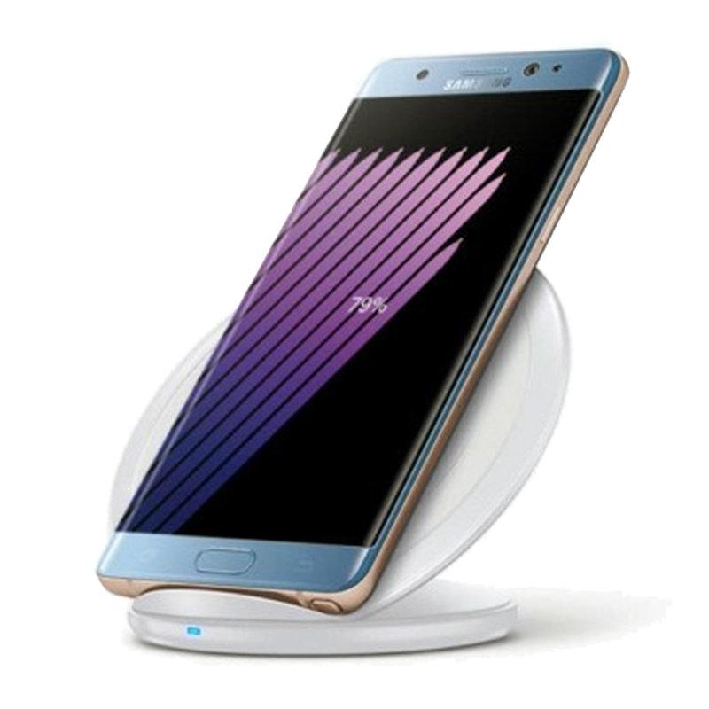 Chargeur rapide sans fil & station d'accueil pour smartphones(iPhone8 et iPhoneX) - Blanc