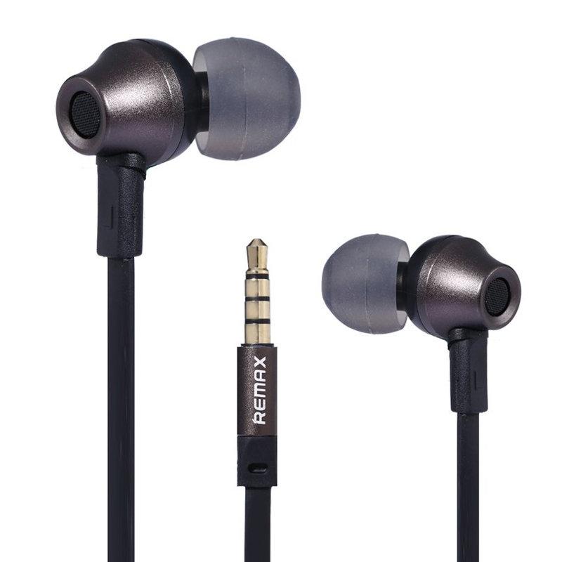 Ecouteur avec microphone Remax 610D - Noir