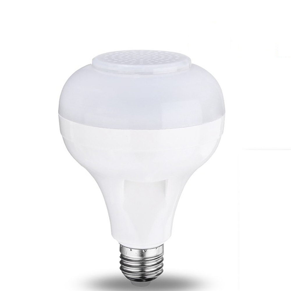 Ampoule LED avec haut-parleur Bluetooth, radio & lecteur MP3