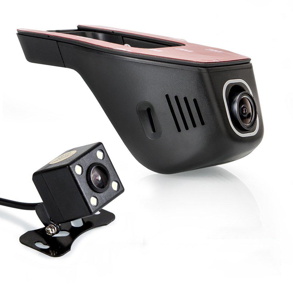 DashCam WIFI Double Caméra pour Voiture avec application sur smartphone