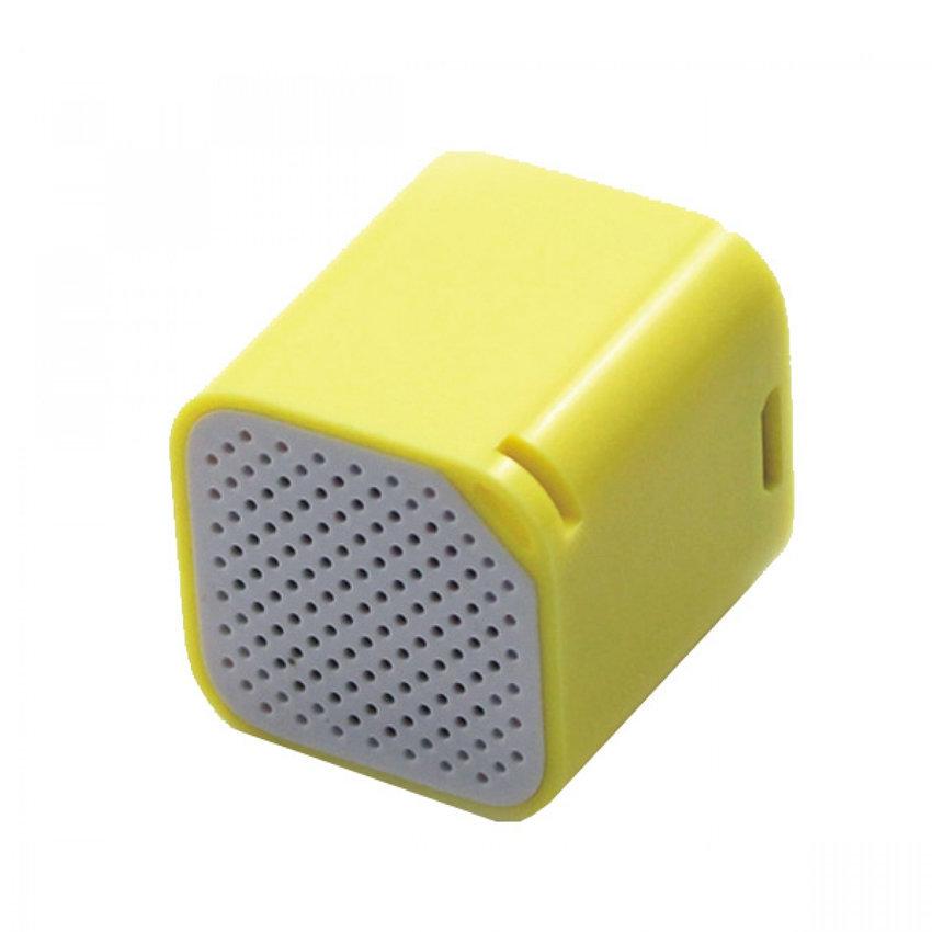 SMARTBOX, mini haut-parleur Bluetooth et anti-perte pour smartphones - Jaune
