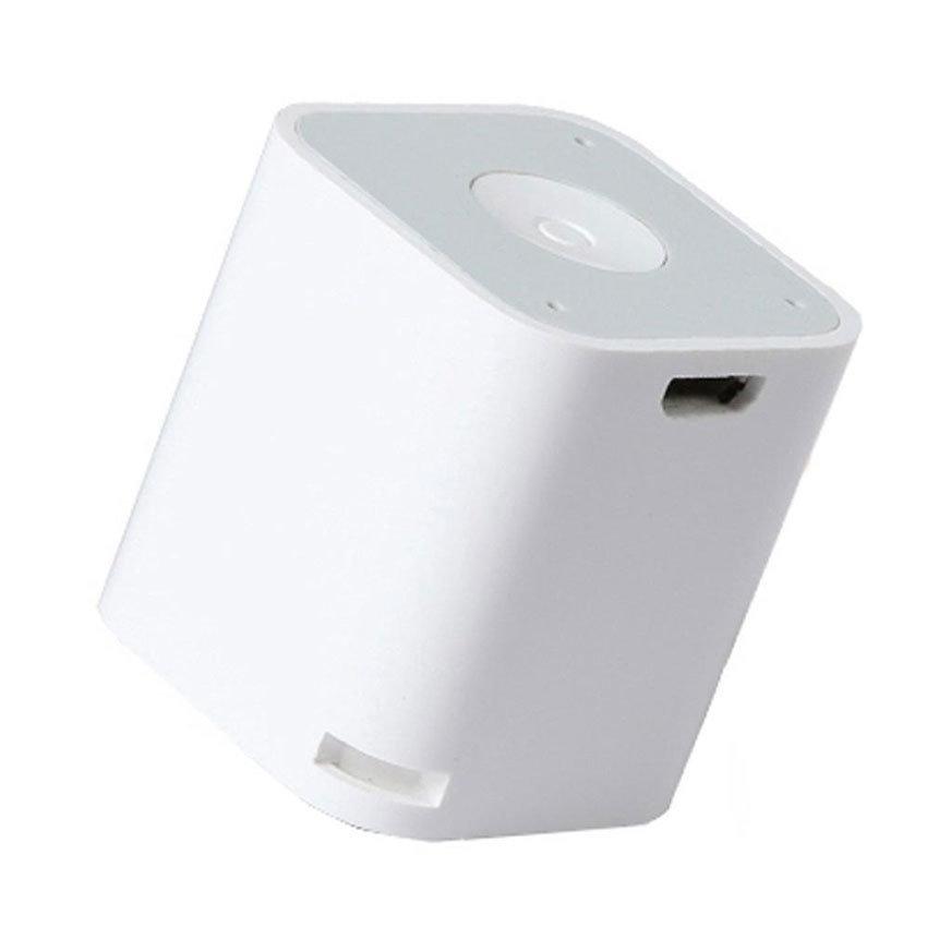 SMARTBOX, mini haut-parleur Bluetooth et anti-perte pour smartphones - Blanc