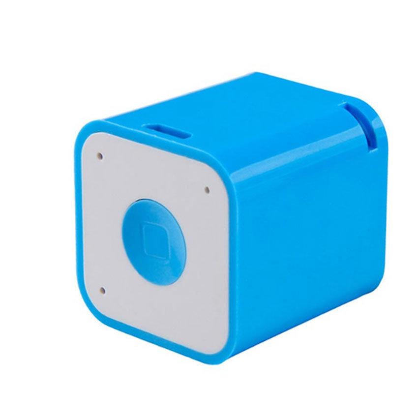 SMARTBOX, mini haut-parleur Bluetooth et anti-perte pour smartphones - Bleu