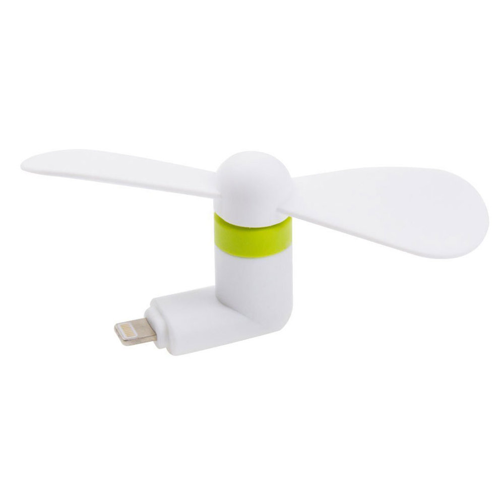 Mini ventilateur USB mobile - Blanc