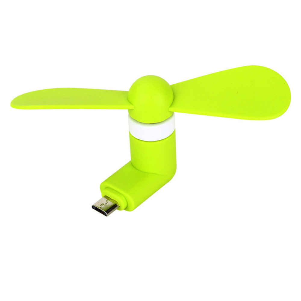Mini ventilateur USB mobile - Vert