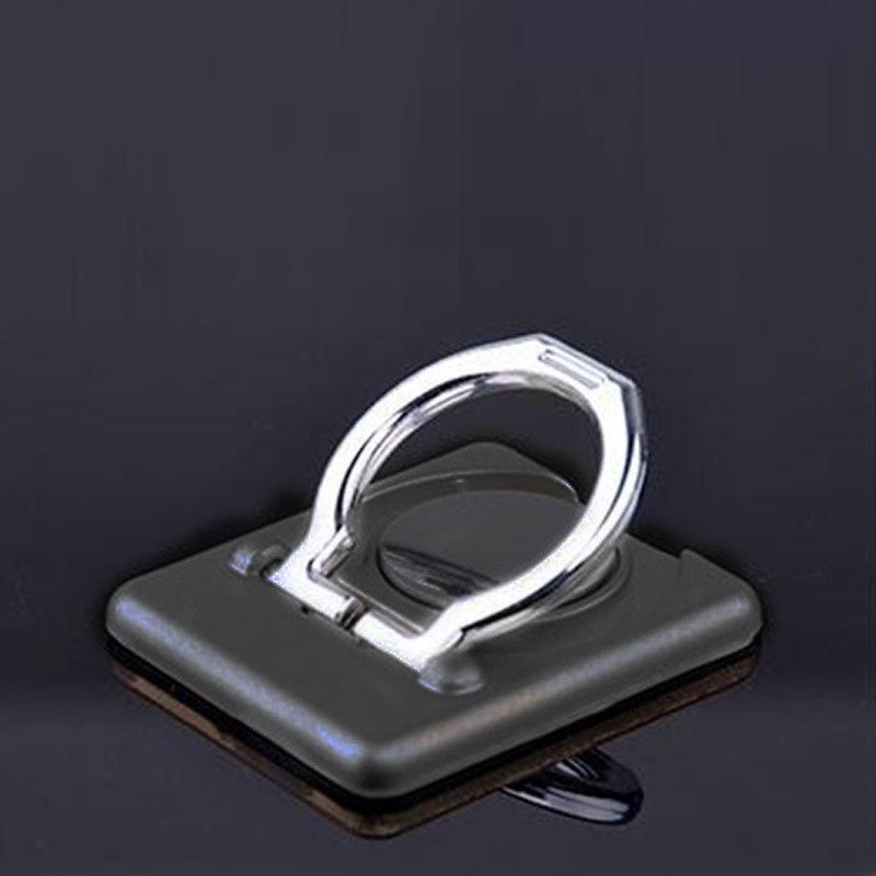 Support d'anneau de doigt pour smartphone - Noir