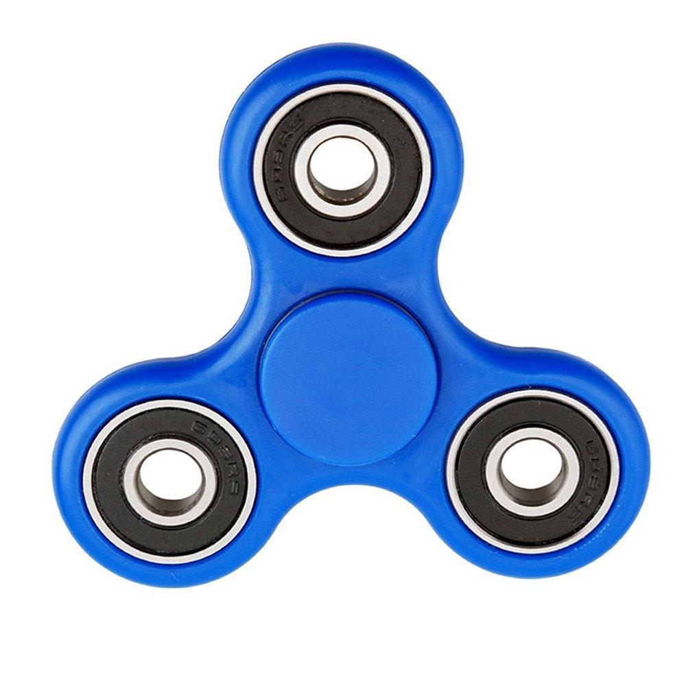 Fidget Spinner - le jouet original de soulagement du stress -Bleu