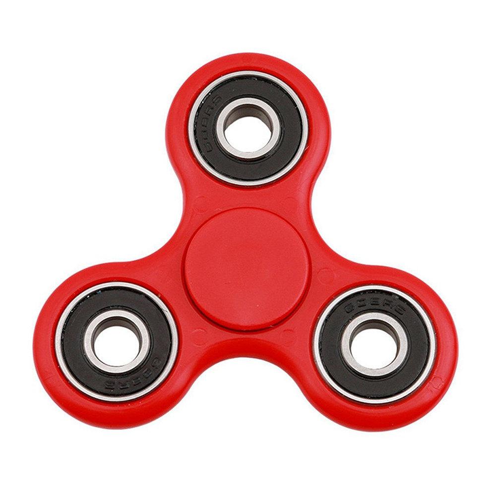 Fidget Spinner - le jouet original de soulagement du stress - Rouge