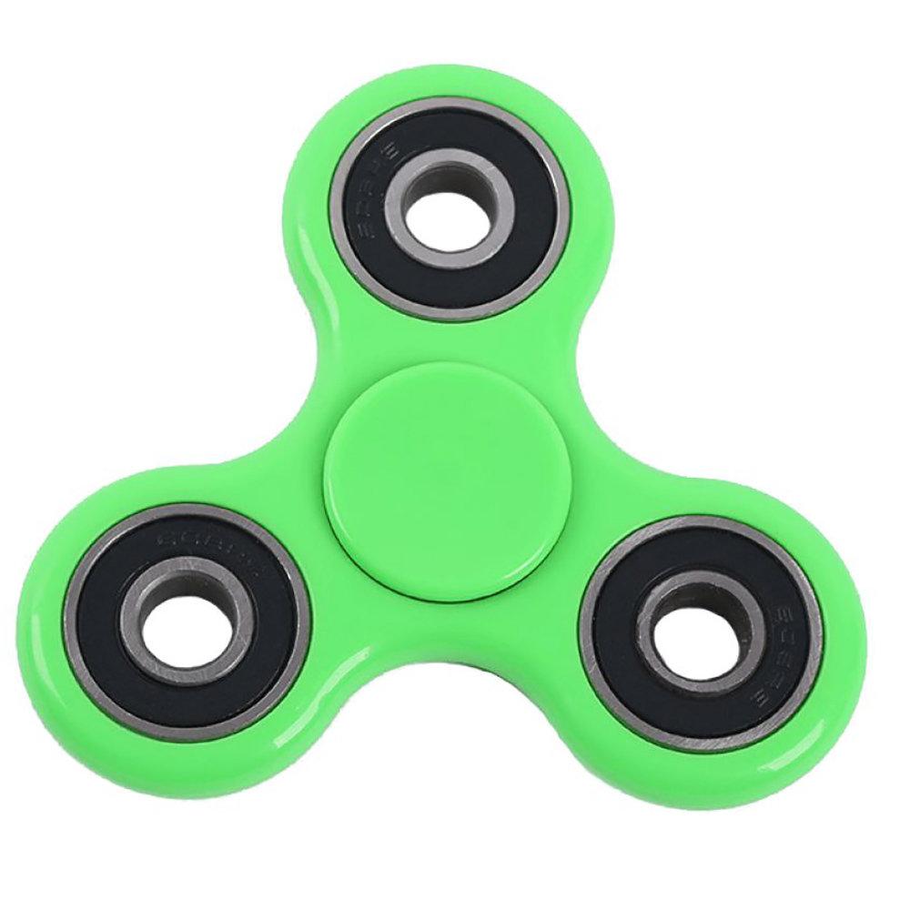 Fidget Spinner - le jouet original de soulagement du stress - Vert
