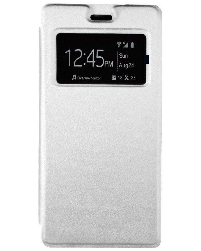 Flip cover pour infinix Note 2 - X600 - Blanc
