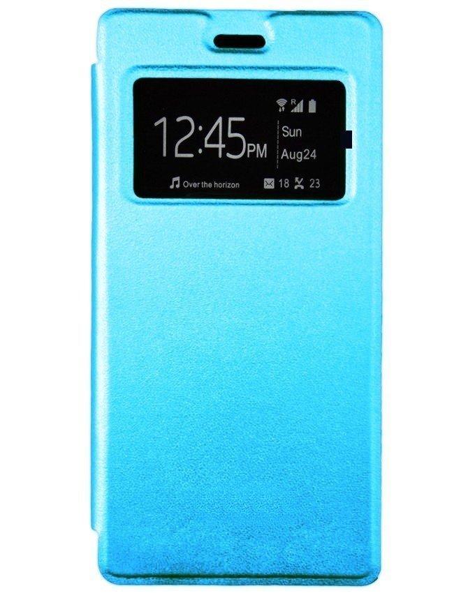 Flip cover pour infinix  Zero 3 - X552 - Bleu clair