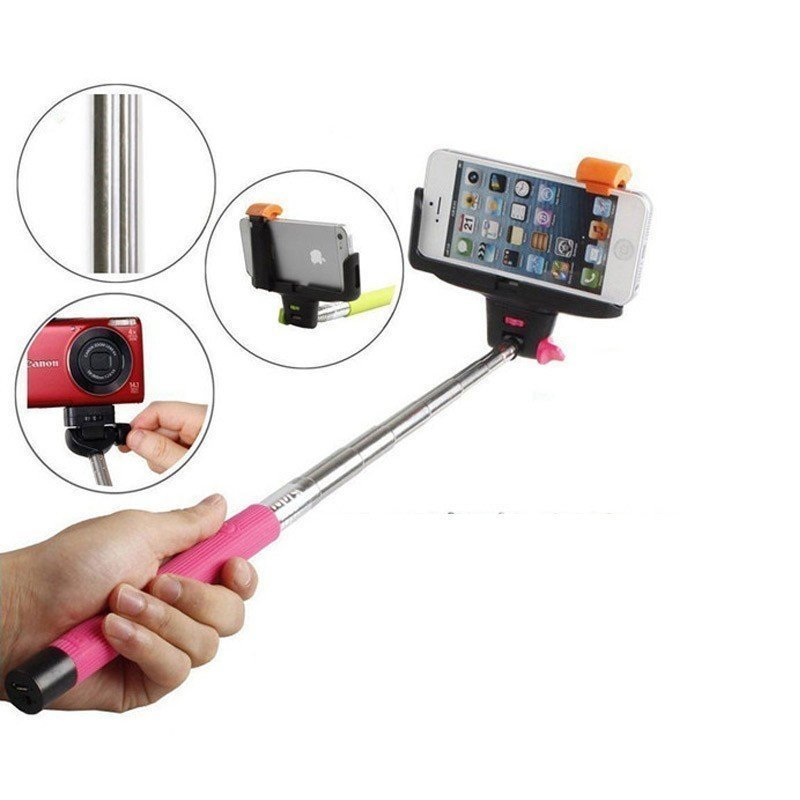 Selfie Monopod iTech Bluetooth - Rose