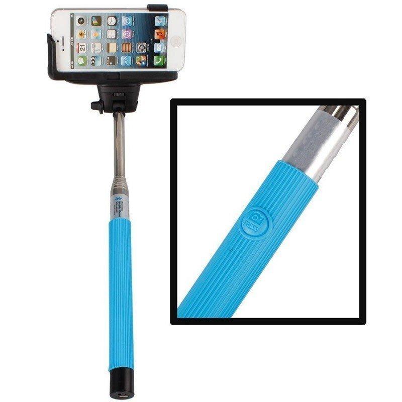Selfie Monopod iTech Bluetooth - Bleu