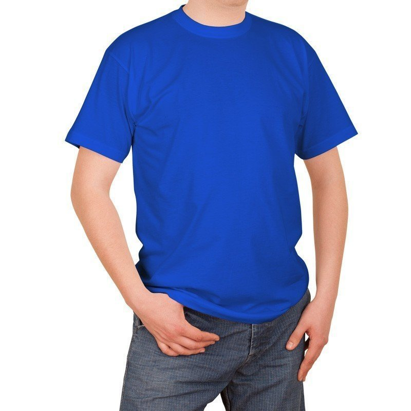 T-shirt Fruit Of The Loom - Bleu marine-M