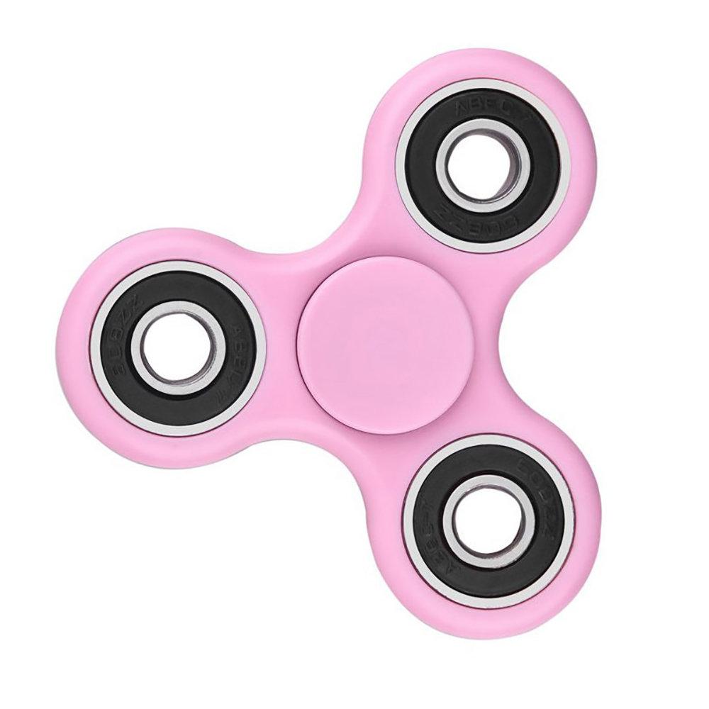 Fidget Spinner - le jouet original de soulagement du stress -Rose