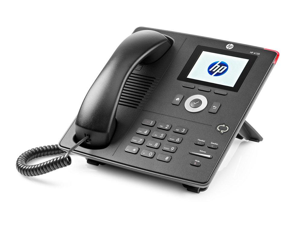 Téléphone standard de bureau IP Phone HP 4120