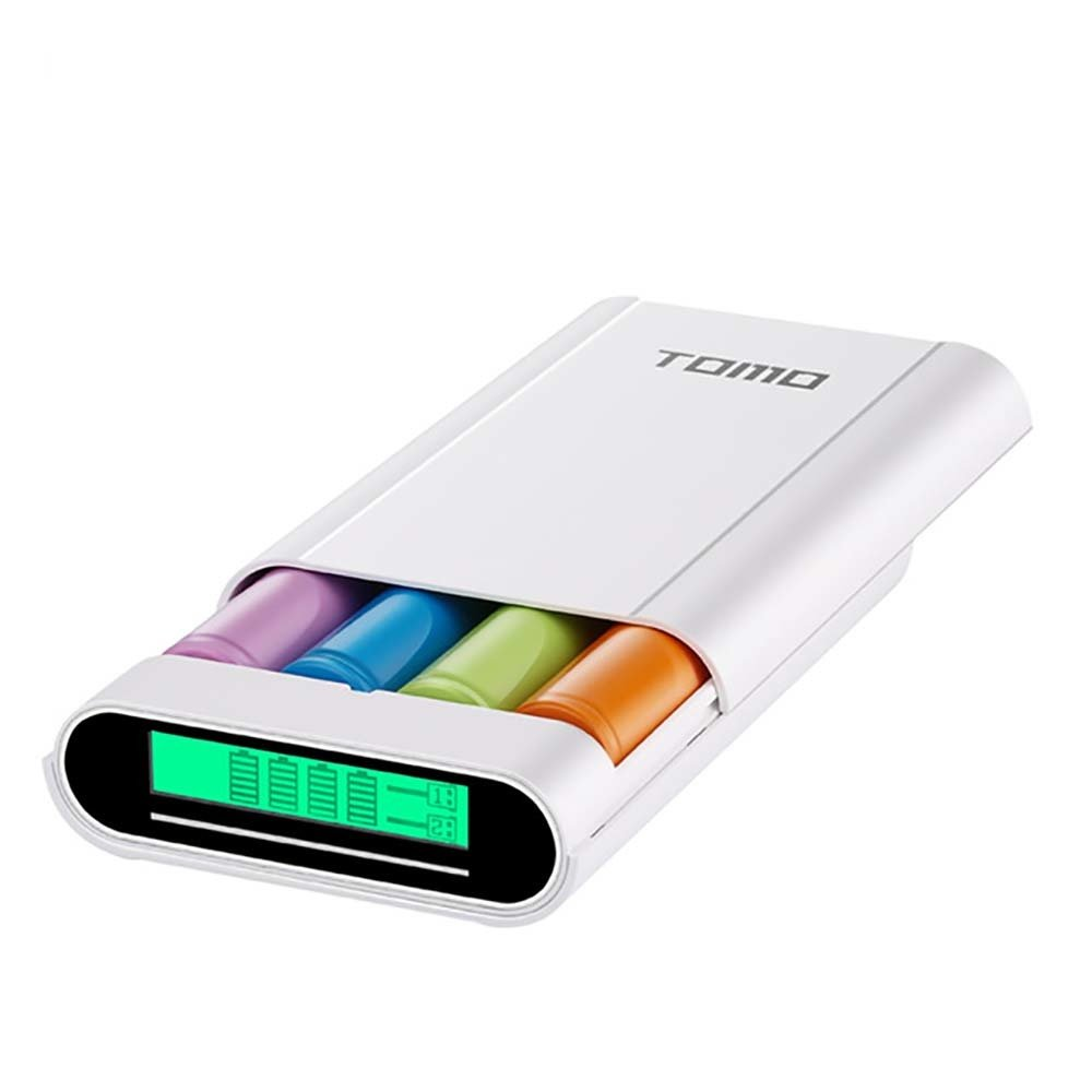TOMO Power Bank et chargeur intelligent compatible avec android & iPhone 7200mAh