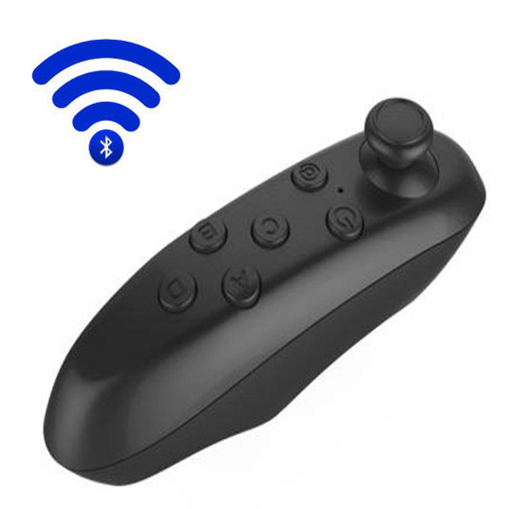 Télécommande et mini manette Bluetooth pour smartphone - Noir