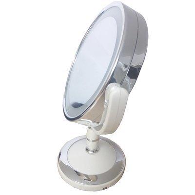 Miroir LED grossissante x2 double face