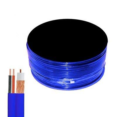 Câble coaxial de vidéosurveillance de haute qualité - Bobine de 100 mètres