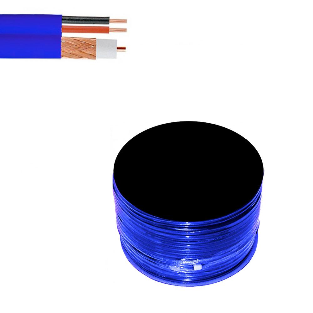 Câble coaxial de vidéosurveillance de haute qualité - Bobine de 50 mètres