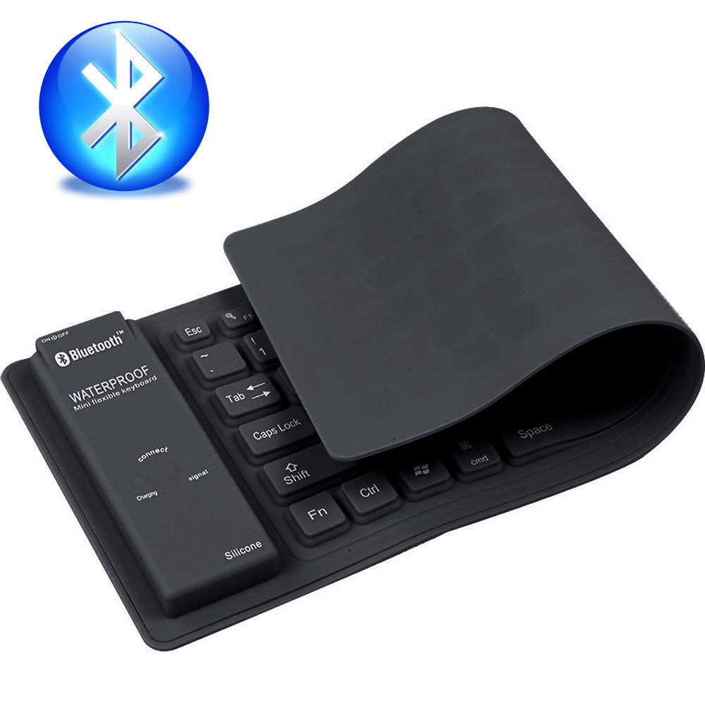 Clavier Bluetooth flexible B84