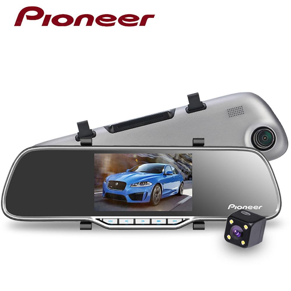 Dashcam double caméra embarquée avec Capteur de gravité - Pioneer