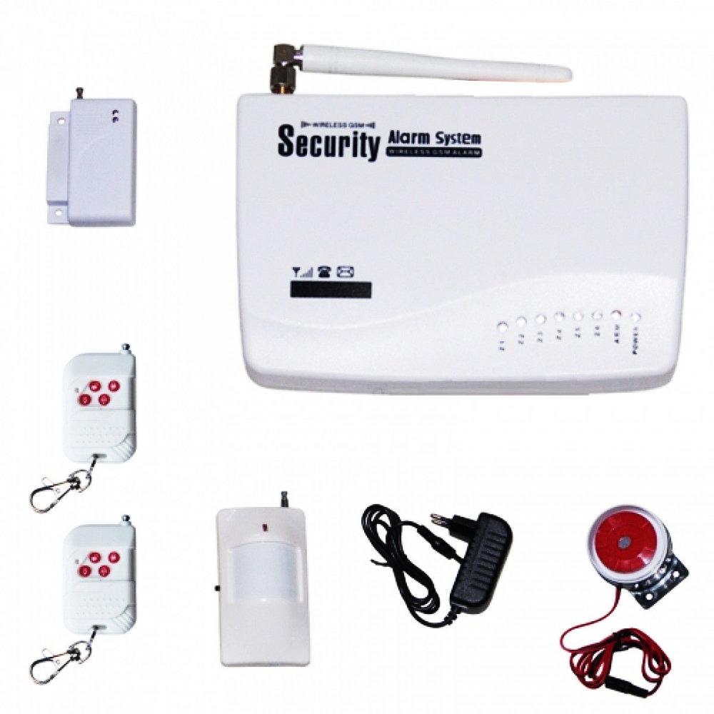 Système d'alarme sans fil à contrôler avec smartphone