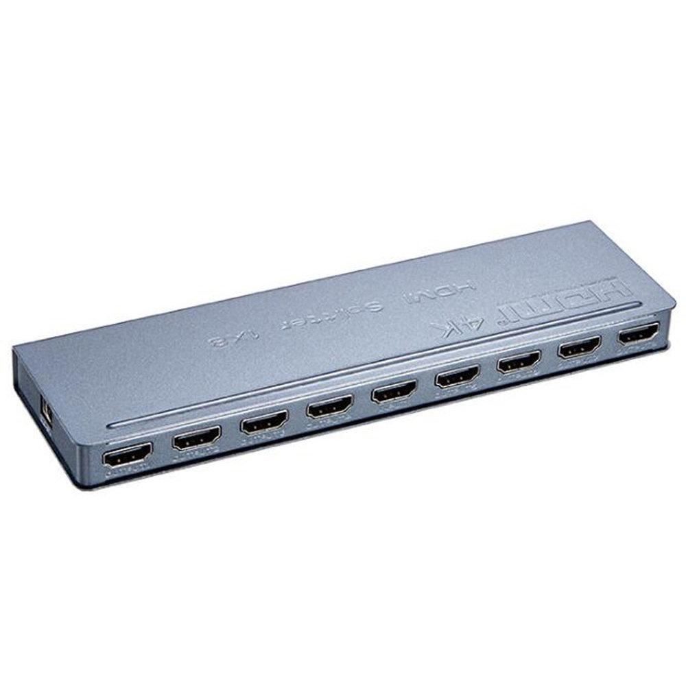 Mini adaptateur HDMI 4k 1X8 en métal