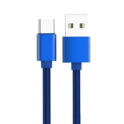 Câble USB Type-C LDNIO original pour Samsung Galaxy S8 & S8+ - Bleu