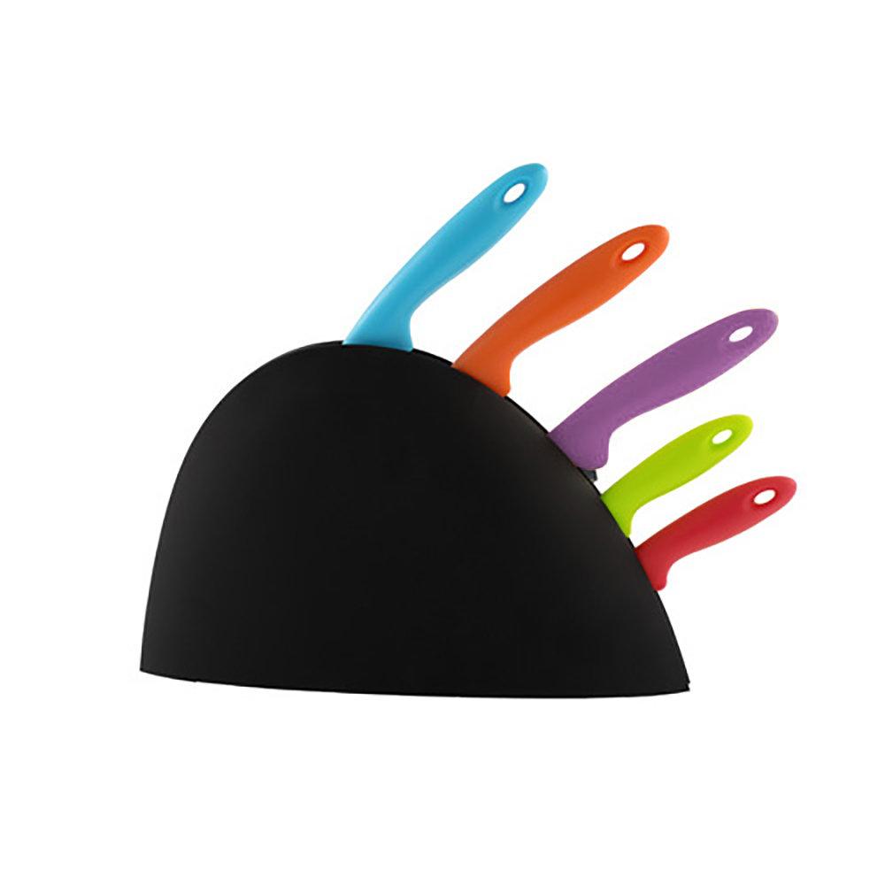 Pack 5 couteaux de cuisine multi-couleurs