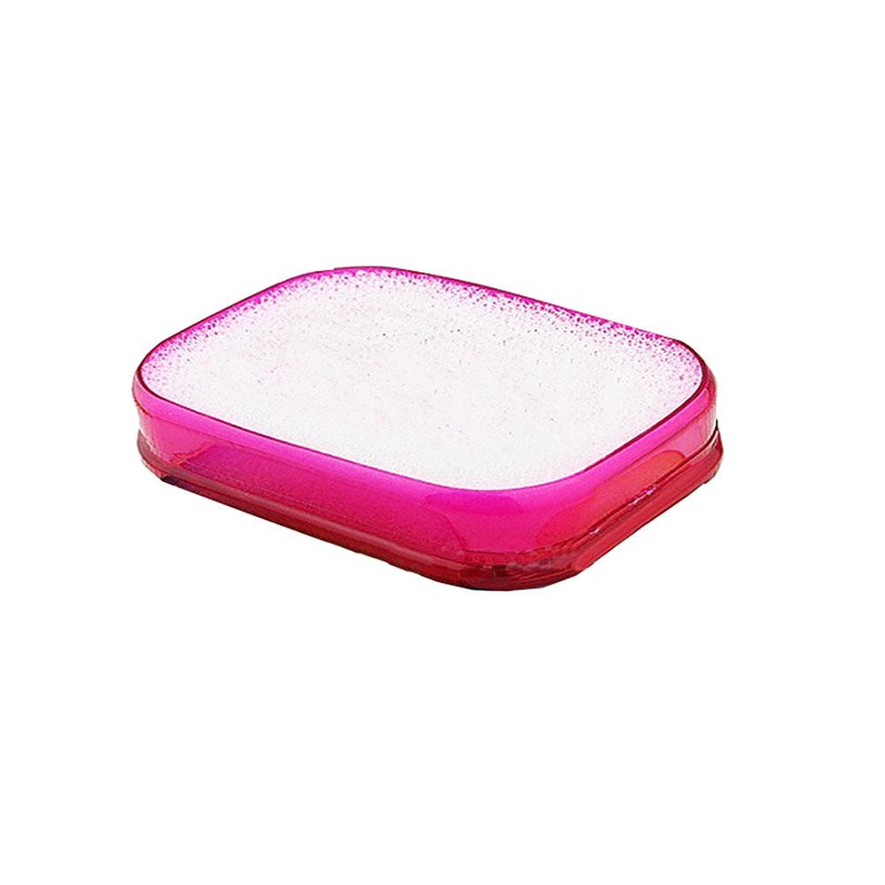 Porte-savon avec éponge absorbante