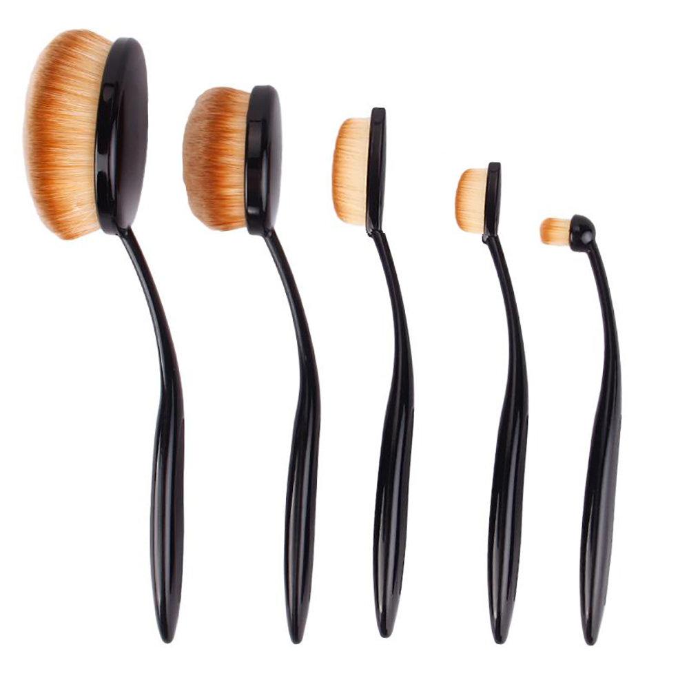 Kit de 5 pinceaux de maquillage Professionnel