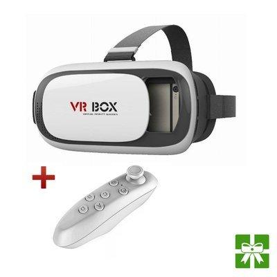 Casque 3D VR BOX II + Mini manette Bluetooth gratuite