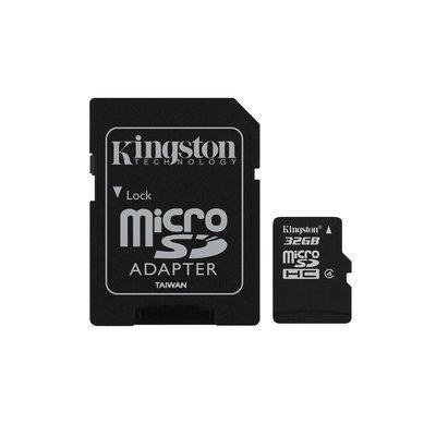Carte mémoire Kingston Micro SDHC 32 Go Class 4