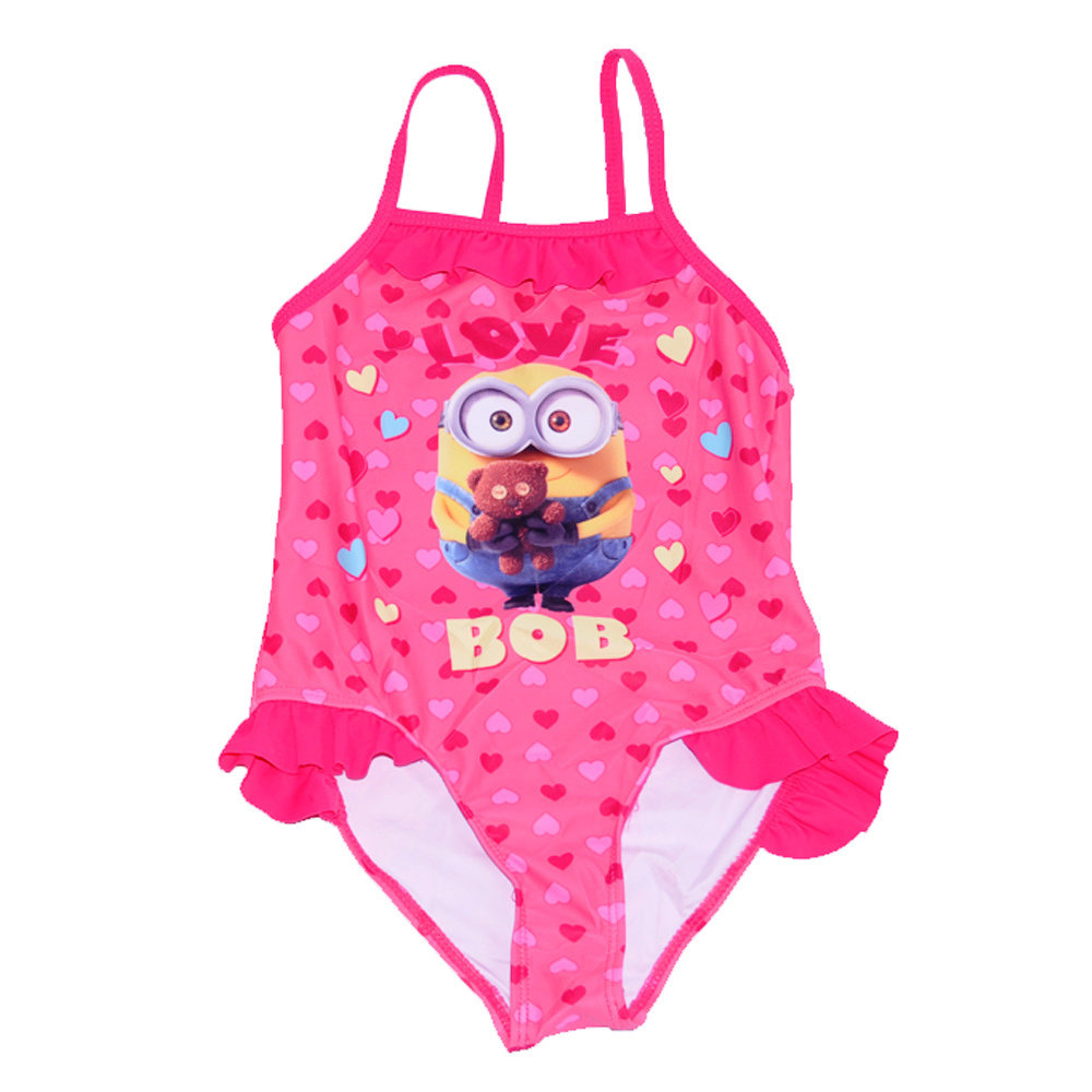 Maillot 'Minions' pour fille -Taille 5-6 ans
