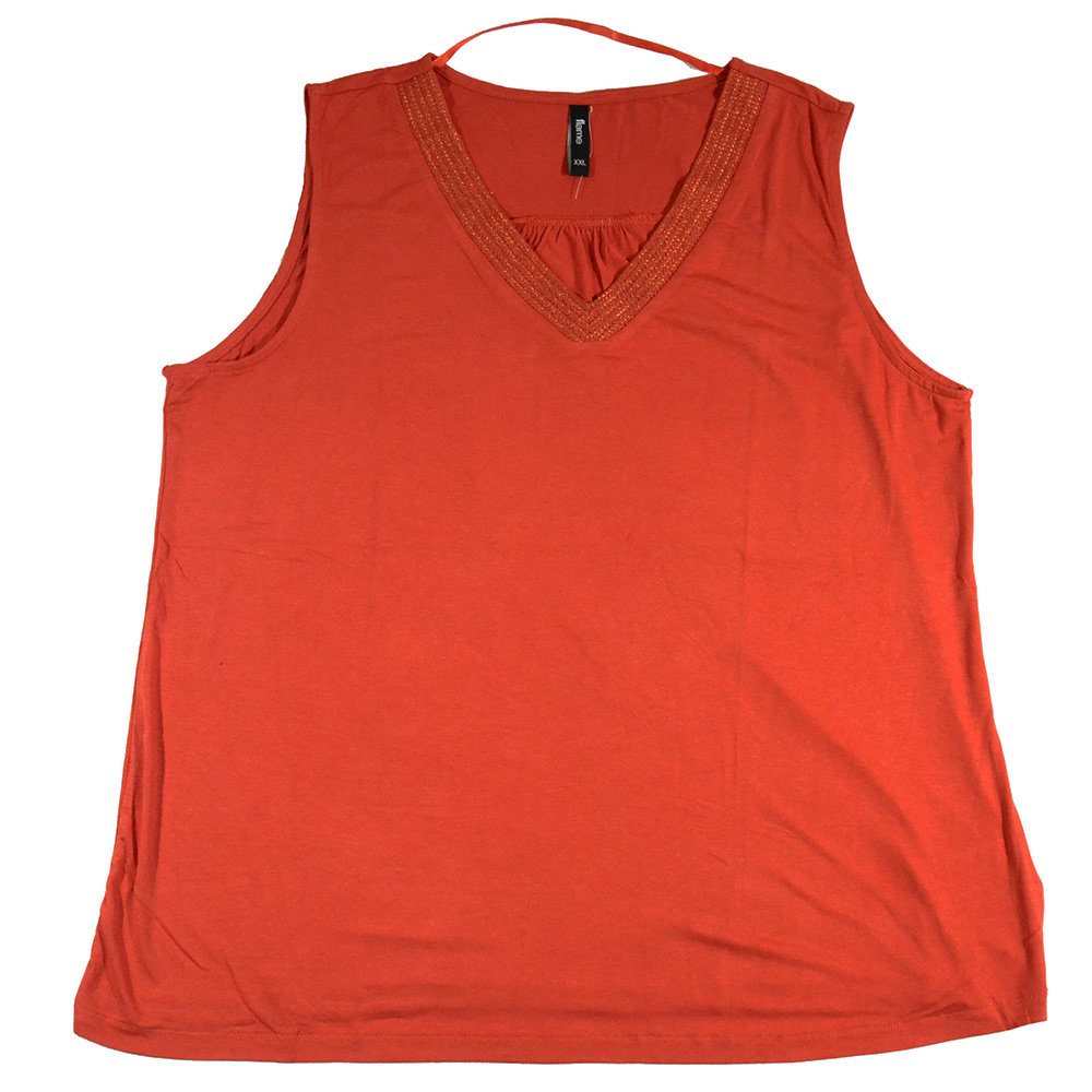 T-shirt 'Flame' pour femme- Taille XXL