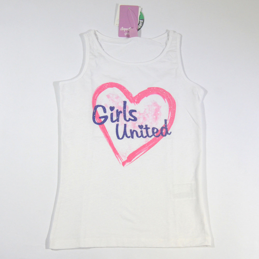 T-shirt 'DopoDopo Girl' pour fille - Taille 7-8 ans