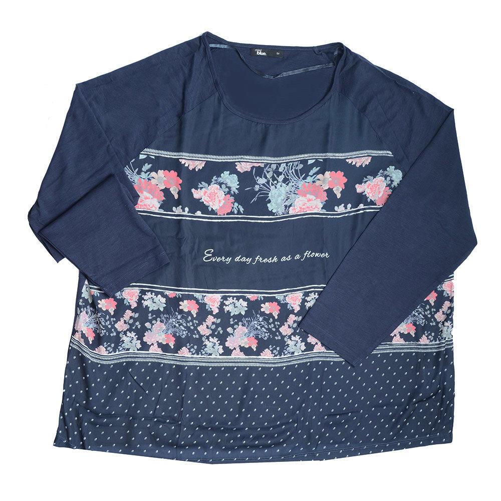 Pull 'Maxi Blue' pour femme - Taille 54