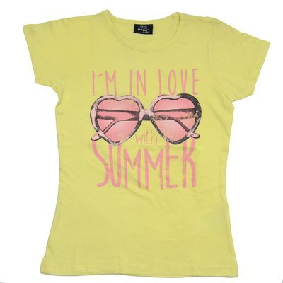 T-shirt 'Page One Young' pour fille - Taille 10-12 ans